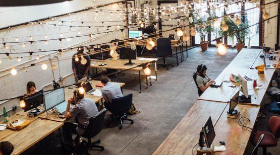 Moderne Bürokonzepte, die dem heutigen Arbeitsleben entsprechen