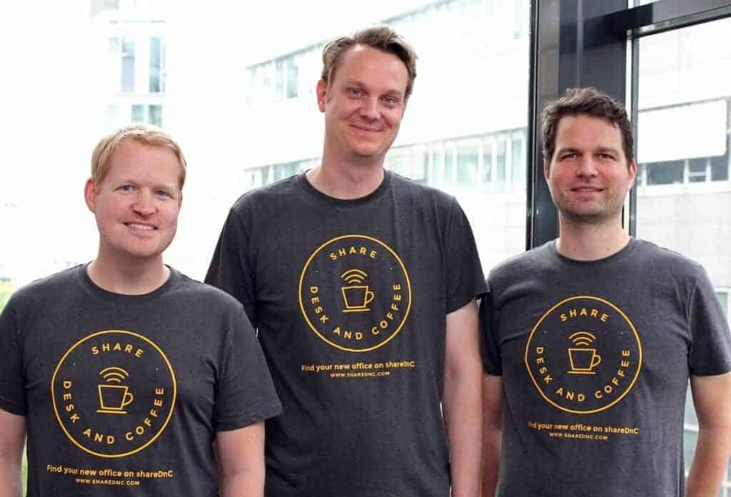 Gründerteam von shareDnC