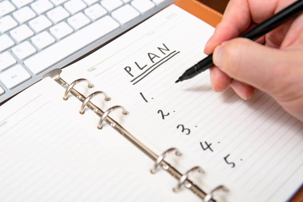 Vorbereitung Büroplanung