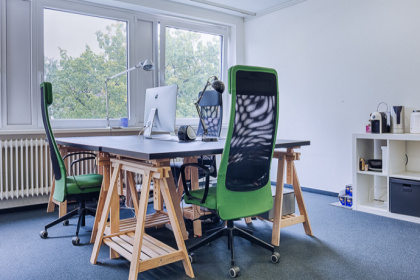 Schöner Co-Working Space in Harvesthude