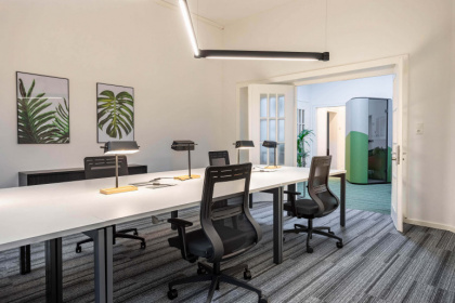Professionelle Serviced Offices und Coworking in charmantem Altbau