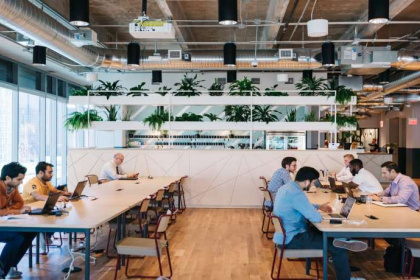 Co-Working Space im Stadthaus - das echte